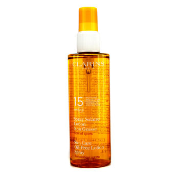 Clarins Sun Care Spray Oil-Free Lotion Progre...