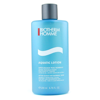 Biotherm Skincare 6.76 oz Homme Aquatic After Shave Lotion ( Normal Skin )