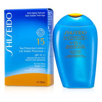 Shiseido Sun Protection Lotion N SPF 15 (For ...