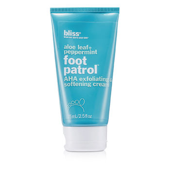 Bliss Skincare 2.5 oz Aloe Leaf + Peppermint Foot Patrol