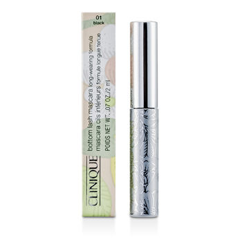 Clinique Make Up 0.07 oz Bottom Lash Mascara - # 01 Black