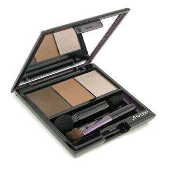 Shiseido Make Up 0.1 oz Luminizing Satin Eye Color Trio - # BR307 Strata