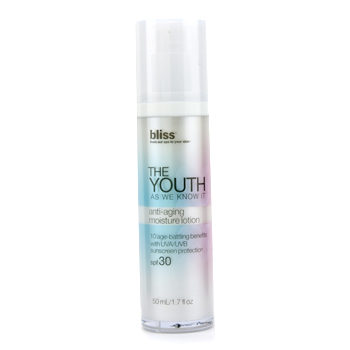 Bliss The Youth As We Know It Anti-Aging Mois...