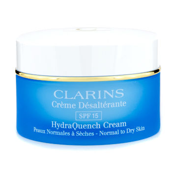 Clarins Skincare 1.7 oz HydraQuench Cream SPF 15 (Normal to Dry Skin)
