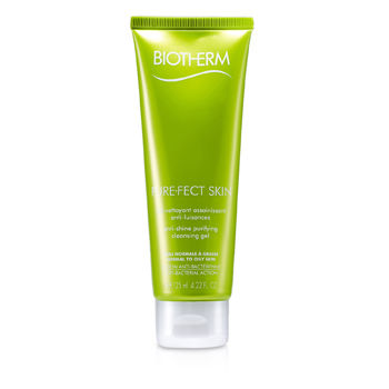 Biotherm Skincare 4.22 oz Pure.Fect Skin Anti-Shine Purifying Cleansing Gel (Combination to Oily Skin)