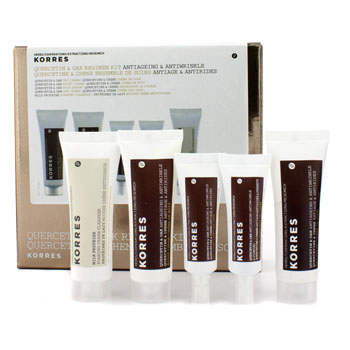 Korres Quercetin & Oak Regimen Kit: Night Cre...