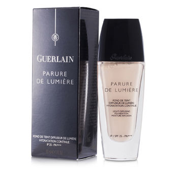 Guerlain Make Up 1 oz Parure De Lumiere Light Diffusing Fluid Foundation SPF 25 - # 01 Beige Pale