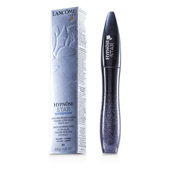 Lancome Make Up 0.23 oz Hypnose Star Waterproof Show Stopping Eyes Ultra Glam Mascara - # 01 Noir Midnight