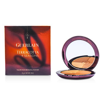 Guerlain Make Up 0.35 oz Terracotta 4 Seasons Tailor Made Bronzing Powder - # 05 Moyen - Brunettes