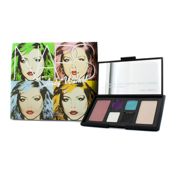 NARS Make Up 6pcs Andy Warhol Collection Debbie Harry Eye And Cheek Palette (4x Eyeshadows, 2x Blushes)-Slightly Damaged