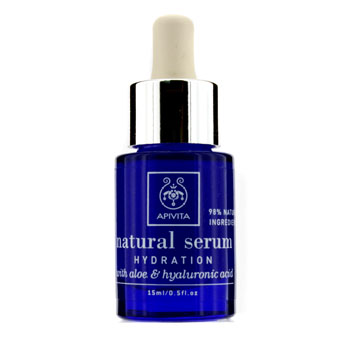 Apivita Natural Serum - Hydration with Aloe &...