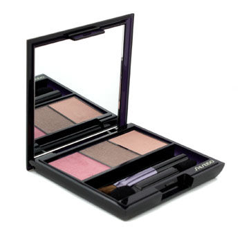 Shiseido Make Up 0.1 oz Luminizing Satin Eye Color Trio - # RD711 Pink Sand