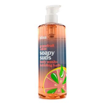 Bliss Skincare 16 oz Grapefruit + Aloe Soapy Suds