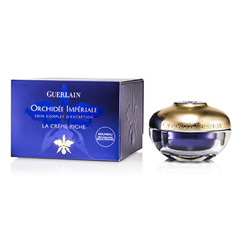 Guerlain Skincare 1.6 oz Orchidee Imperiale Exceptional Complete Care The Rich Cream (New Gold Orchid Technology)