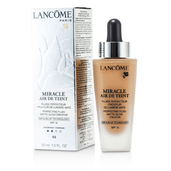 Lancome Make Up 1 oz Miracle Air De Teint Perfecting Fluid SPF 15 - # 03 Beige Diaphane