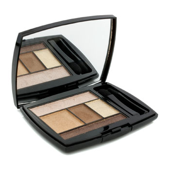 Lancome Make Up 0.14 oz Color Design 5 Shadow & Liner Palette - # 101 Bronze Amour (US Version)