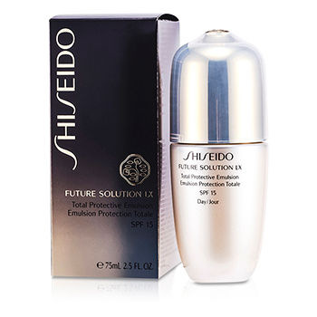 Shiseido Skincare 2.5 oz Future Solution LX Total Protective Emulsion SPF 15