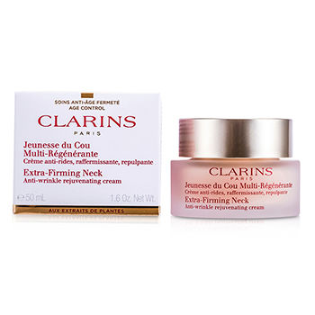 Clarins Skincare 1.6 oz Extra-Firming Neck Anti-Wrinkle Rejuvenating Cream
