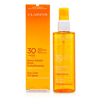 Clarins Sun Care Oil Spray SPF 30 High Protec...