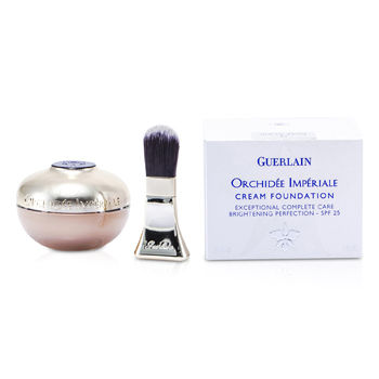 Guerlain skincare 1 oz Orchidee Imperiale Cream Foundation Brightening Perfection SPF 25 - # 12 Rose Clair