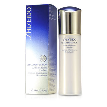 Shiseido Skincare 3.3 oz Vital-Perfection White Revitalizing Emulsion