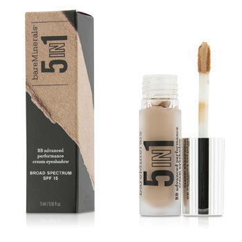 Bare Escentuals Make Up 0.1 oz BareMinerals 5 In 1 BB Advanced Performance Cream Eyeshadow Primer SPF 15 - Blushing Pink