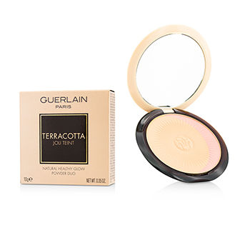 Guerlain Make Up 0.35 oz Terracotta Joli Teint Natural Healthy Glow Powder Duo - # 00 Clair/Light Blondes