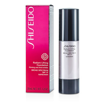 Shiseido Make Up 1.2 oz Radiant Lifting Foundation SPF 17 - # D20 Rich Brown