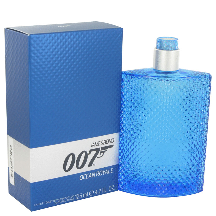 007 Ocean Royale by James Bond for Men Eau De Toilette Spray 4.2 oz