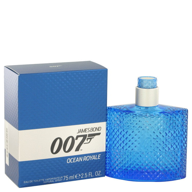 007 Ocean Royale by James Bond Eau De Toilette Spray 2.5 oz