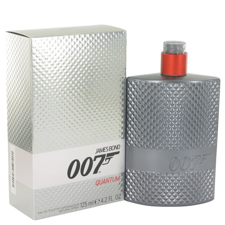 007 Quantum by James Bond for Men Eau De Toilette Spray 4.2 oz