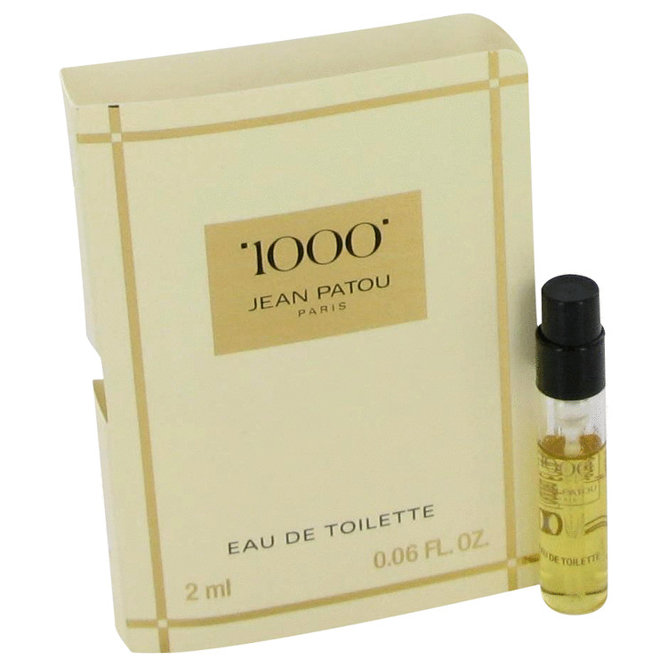 1000 by Jean Patou for Women Vial (sample) .06 oz