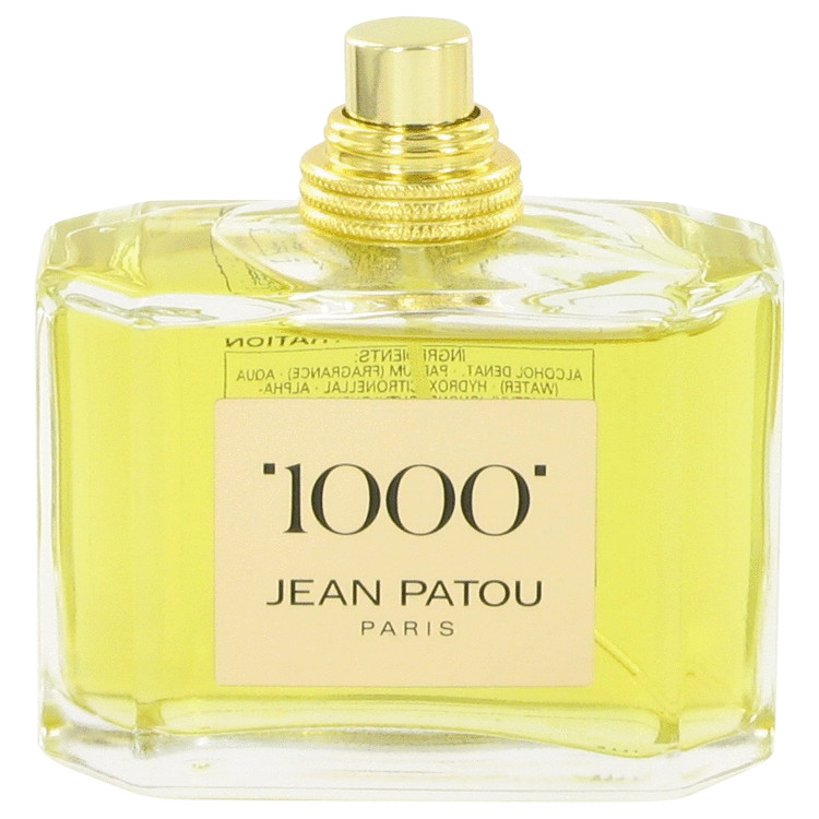 1000 by Jean Patou for Women Eau De Parfum Spray (Tester) 2.5 oz