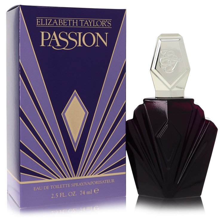 PASSION by Elizabeth Taylor –  Mini EDP (unboxed) .12 oz 4 ml for Women