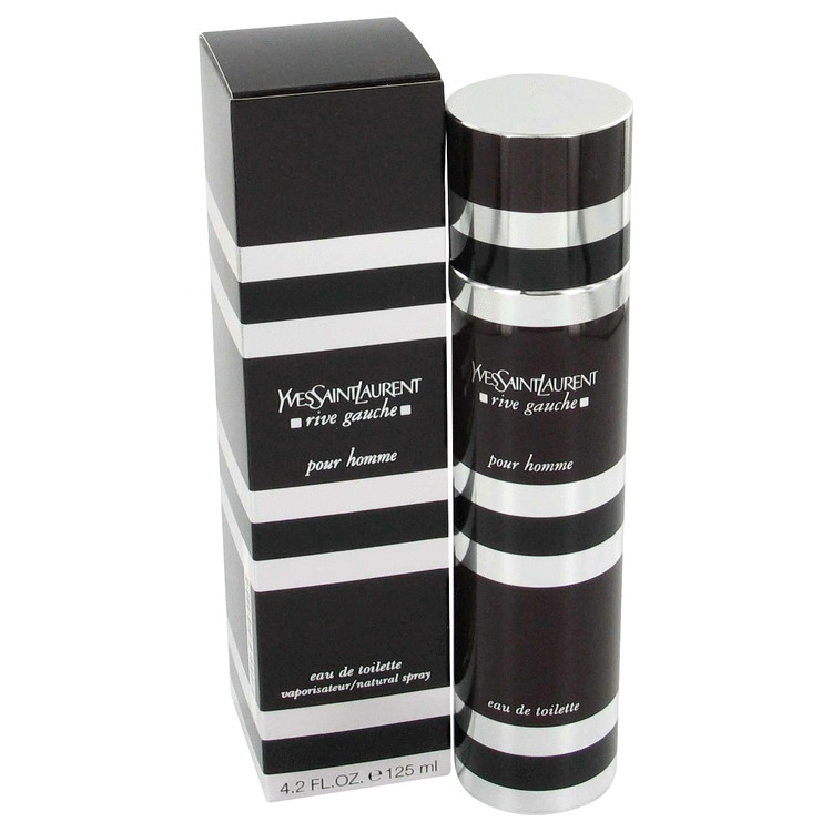 Rive Gauche Cologne 60 ml Eau De Toilette Intense Spray Refillable for Men
