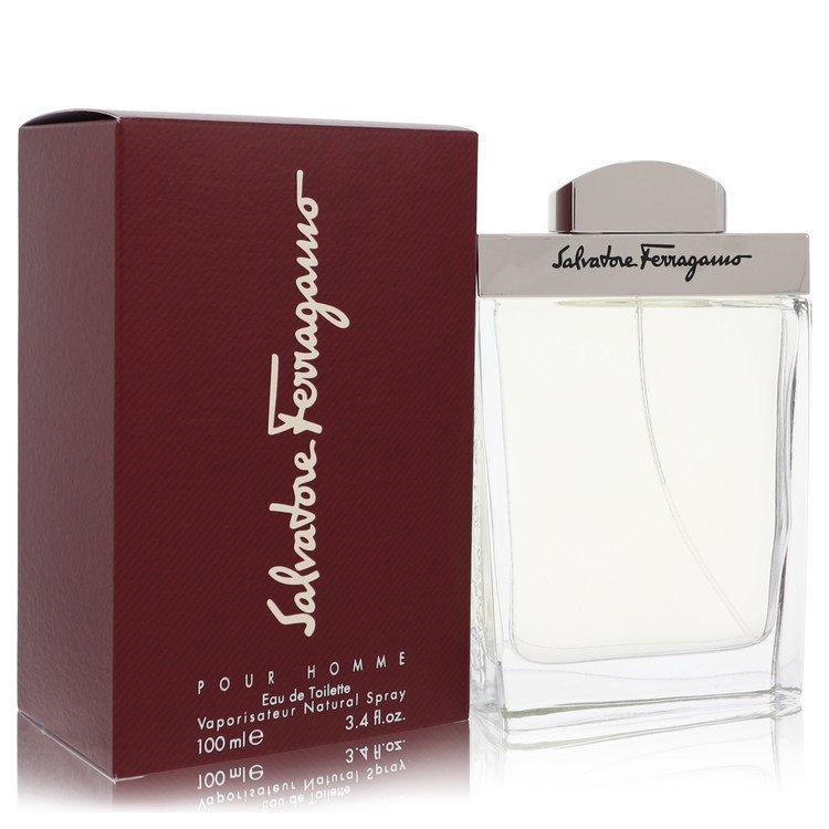 Salvatore Ferragamo Cologne 50 ml Eau De Toilette Spray + Free 2.5 oz Shower Gel for Men