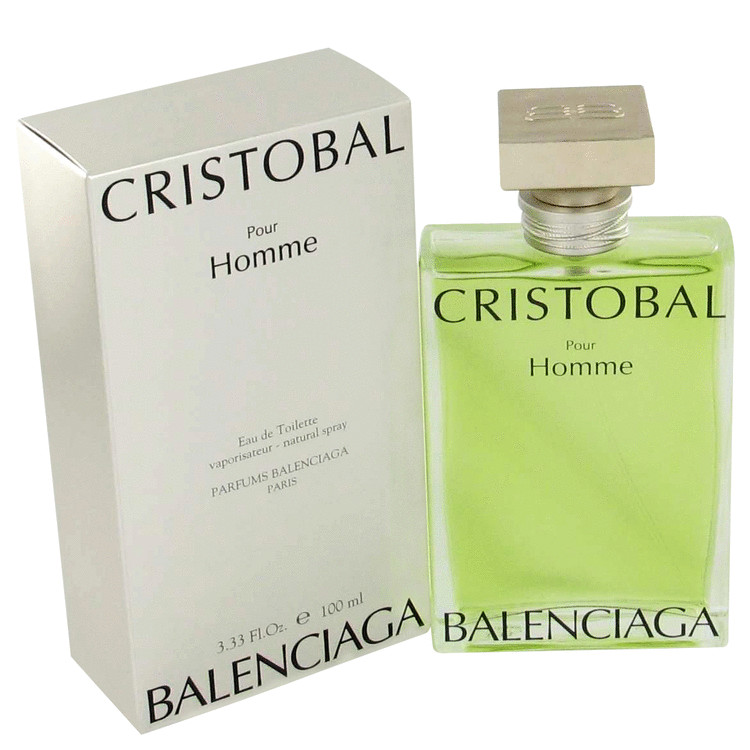 Cristobal Cologne by Balenciaga 100 ml Eau De Toilette Spray for Men