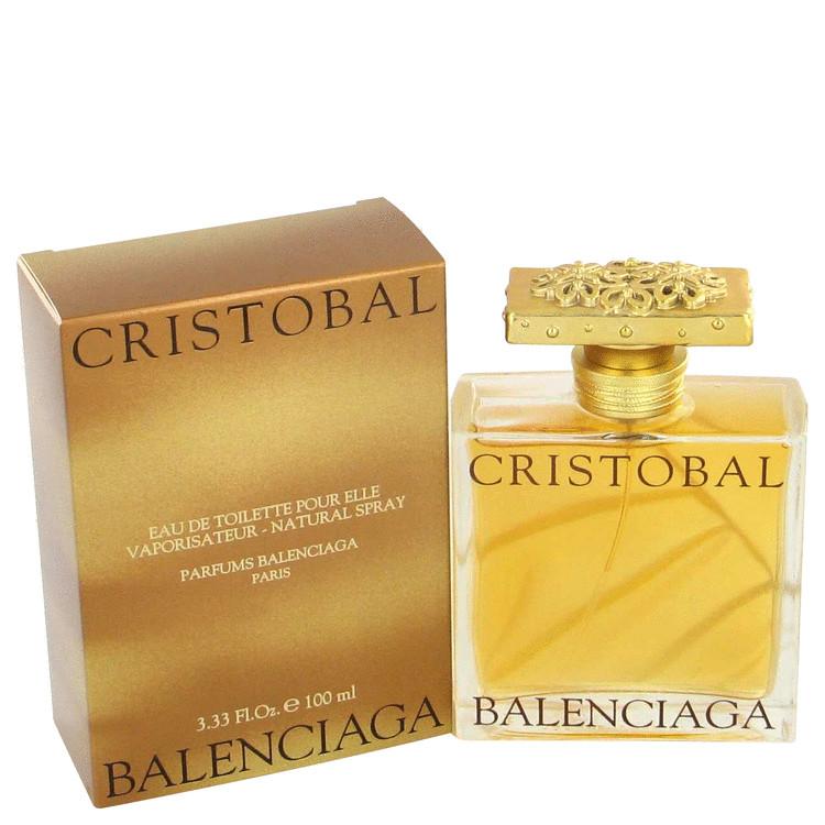 Cristobal Perfume by Balenciaga 100 ml Eau De Toilette Spray for Women