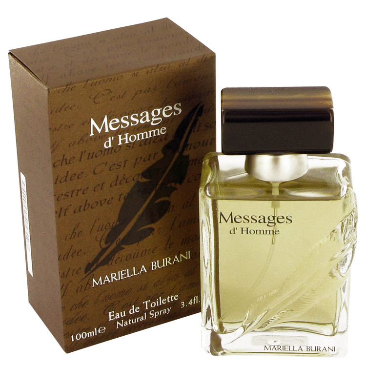 Messages Cologne by Mariella Burani 100 ml EDT Spay for Men