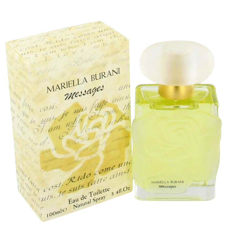 Messages Perfume by Mariella Burani 3.4 oz EDT Spay for Women