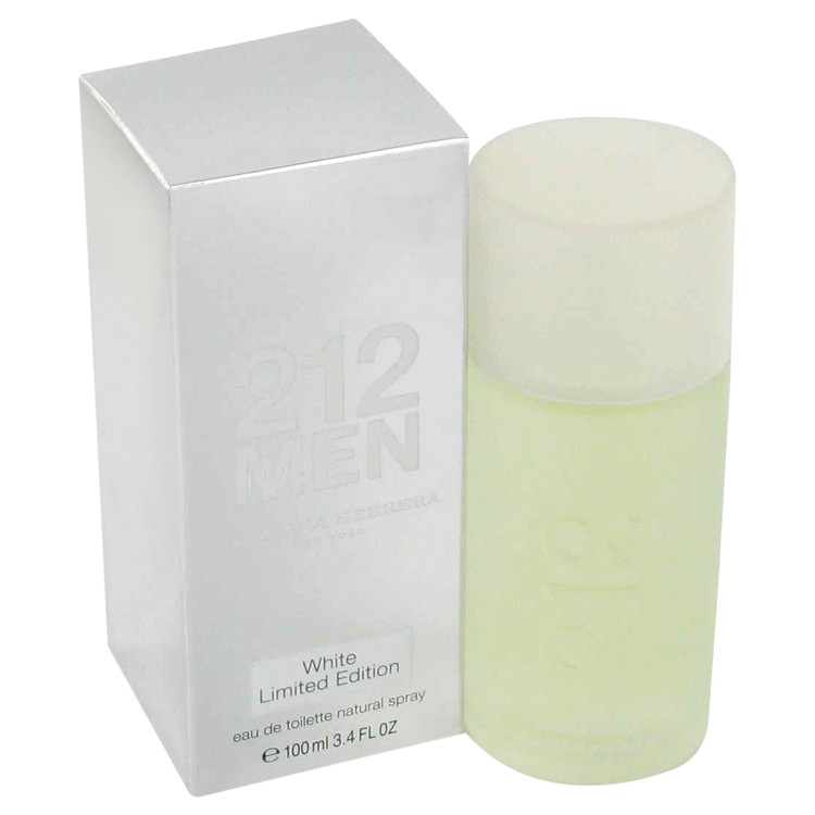 212 White Cologne by Carolina Herrera 100 ml EDT Spay for Men