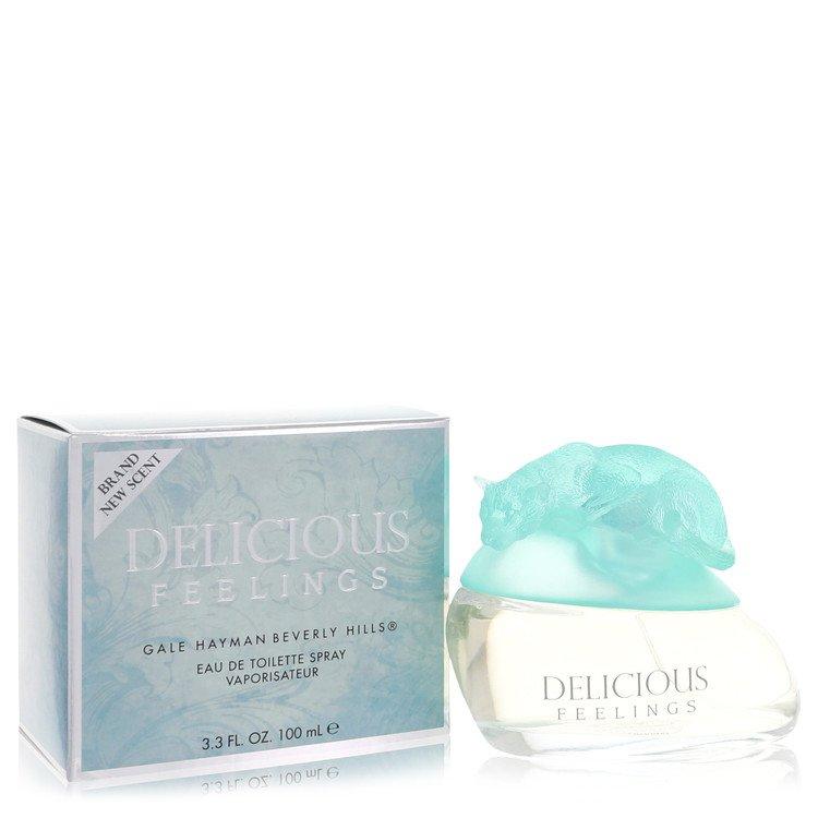 Delicious Feelings Perfume 50 ml Eau De Toilette Spray With 2.5ml Mini Eau De Toile for Women
