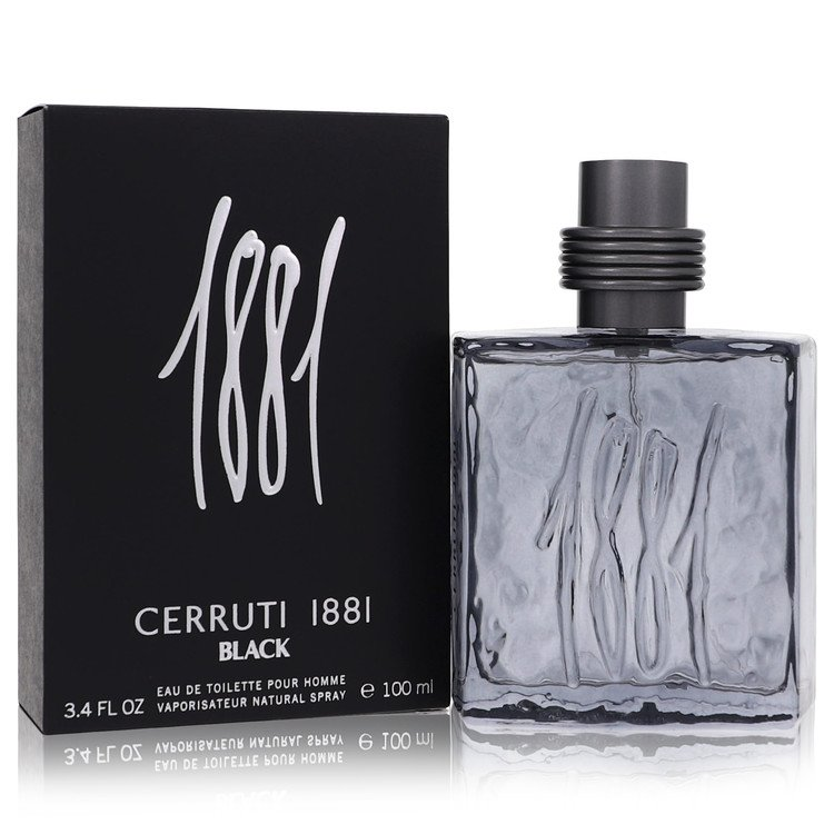 1881 Black by Nino Cerruti by Nino Cerruti – Eau De Toilette Spray 3.4 oz 100 ml for Men