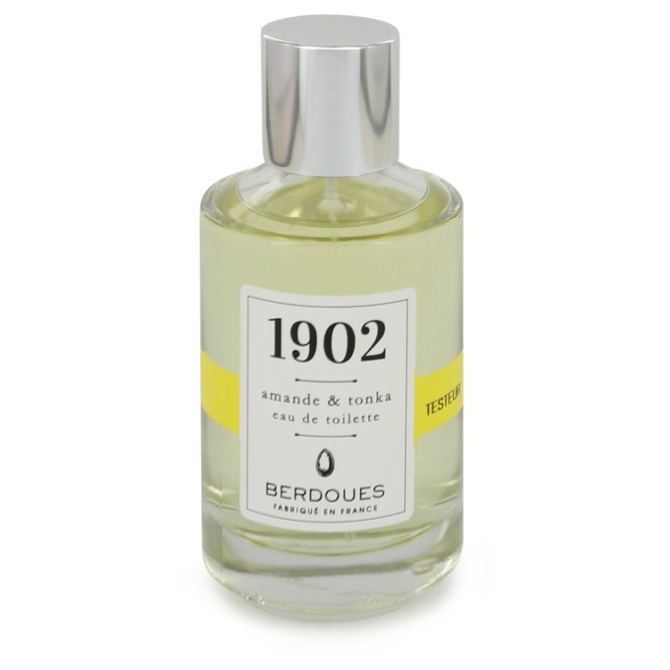 1902 Amande & Tonka by Berdoues Eau De Toilette Spray (Tester) 3.38 oz