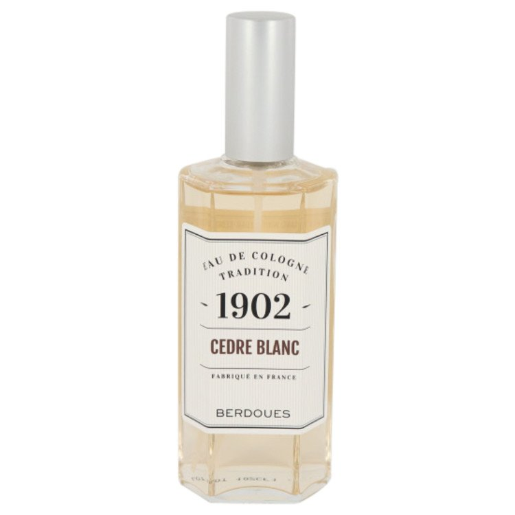 1902 Cedre Blanc by Berdoues Eau De Cologne Spray (Tester) 4.2 oz