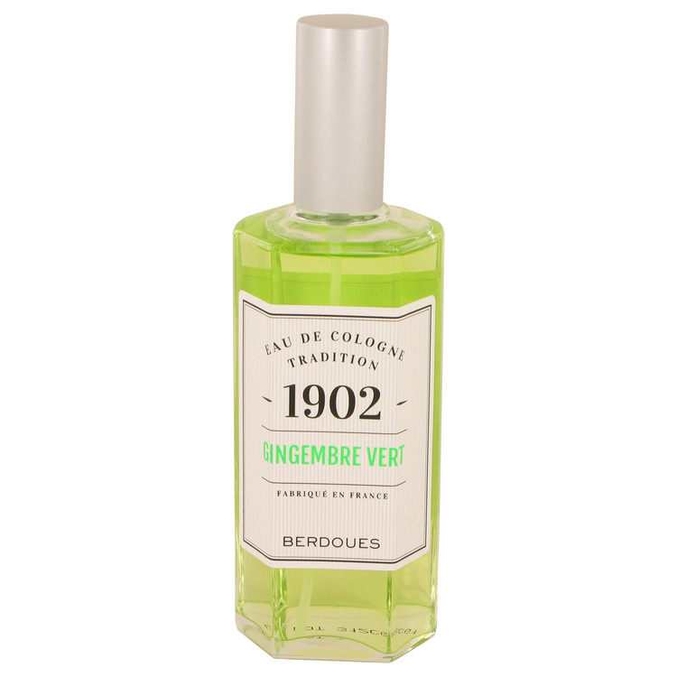 1902 Gingembre Vert by Berdoues Eau De Cologne Spray (unboxed) 4.2 oz