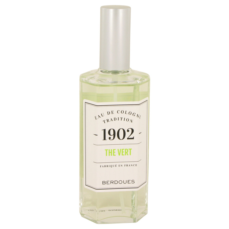 1902 Green Tea by Berdoues Eau De Cologne (Unisex unboxed) 4.2 oz