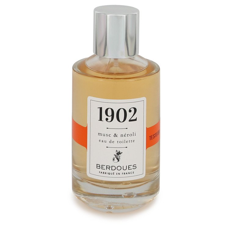1902 Musc & Neroli by Berdoues Eau De Toilette Spray (Tester) 3.38 oz