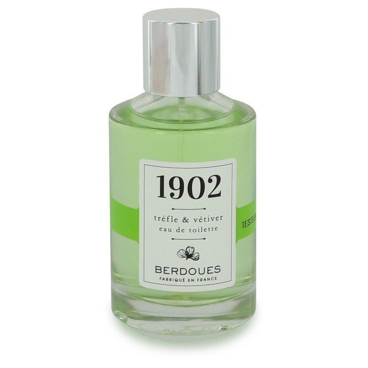 1902 Trefle & Vetiver by Berdoues for Women Eau De Toilette Spray (Tester) 3.38 oz