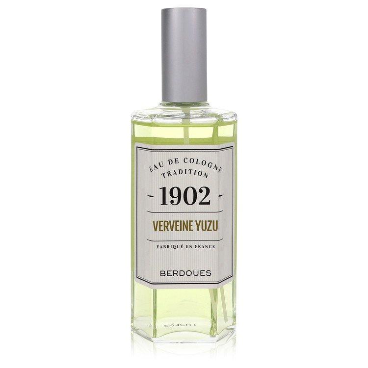 1902 Verveine Yuzu by Berdoues for Men Eau De Cologne Spray 4.2 oz